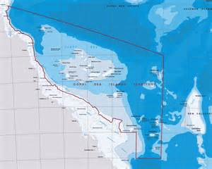 map of sea island coral sea islands surf trip destination and travel