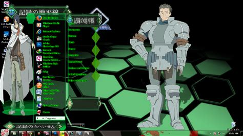 Download Theme Windows 7 Log Horizon | theme win 7 log horizon by themeanimewindows on deviantart