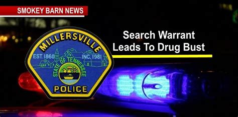 Warrant Search Tn Millersville Search Warrant Leads To Bust