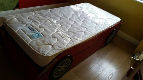 full size car bed childs single full size car bed silentnight mattress for