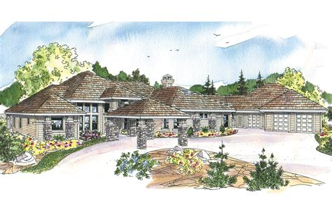Prairie Style House Plans Prairie Style House Plans Westfair 30 445 Associated Designs