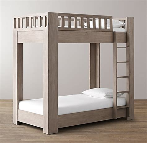 platform loft bed callum platform twin over twin bunk bed