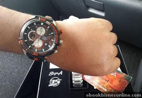 Jam Tangan Pria Alba Signa Af3f17x1 Limited Edition Original Murah jam tangan alba 35th anniversary limited edition
