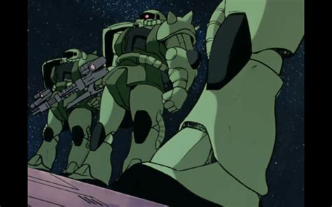Haro Collection Gundam Green Zeon Zaku mobile suit gundam ep 1 gundam rising mecha review