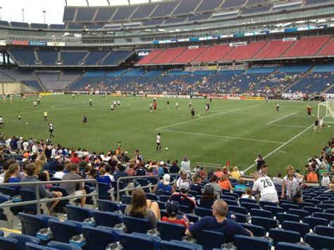 gillette stadium section  home   england patriots  england revolution umass