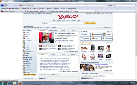 yahoo layout of home page new yahoo homepage is i did it for the lul z
