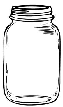 how to color jars jars drawing search wedding jar