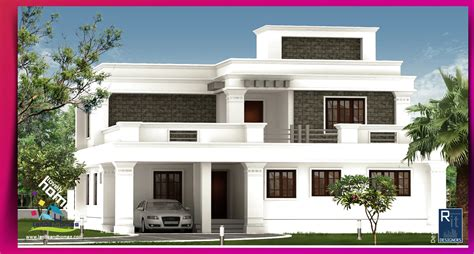 contemporary house plan modern house plans in kannur keralareal estate kerala free
