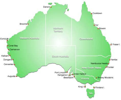 map around australia australian things to do fishing angling