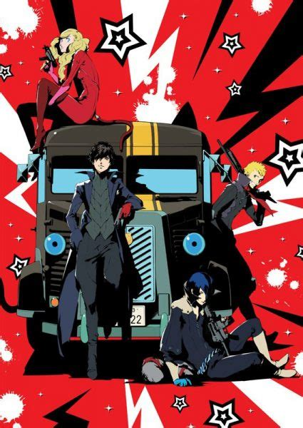 Anime Persona 4 Iphone All Hp persona 5 daybreakers to be streamed via crunchyroll rice digital rice digital