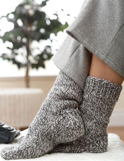 Knitting Pattern Thick Socks | yarnspirations com patons basic chunky sock patterns