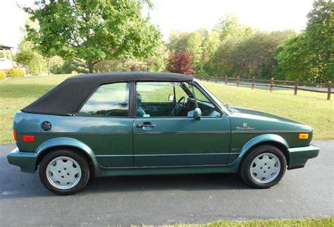 1991 volkswagen cabriolet etienne aigner edition revisit german cars for sale blog