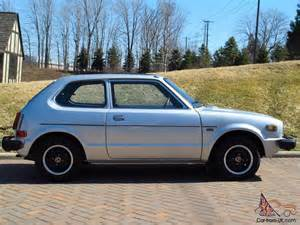 1978 honda civic cvcc rust free clean 72 000