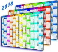 Kalender 2016 Druckformat Kalender 2018 Zum Ausdrucken