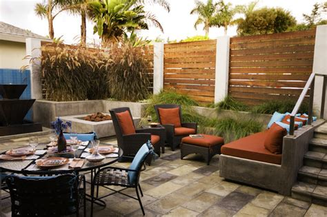 serene backyard modern patio san diego by hamilton