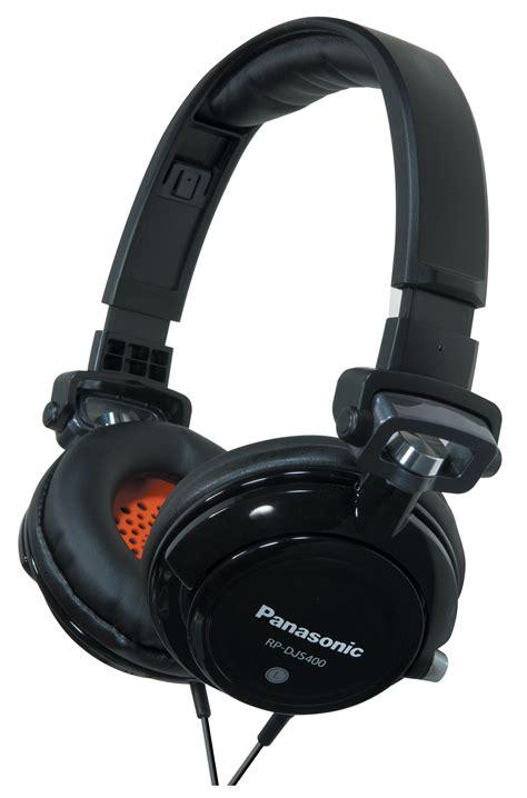 Headphone Panasonic rp djs400aek panasonic dj headphone with tuned bass and swivel mechanism black