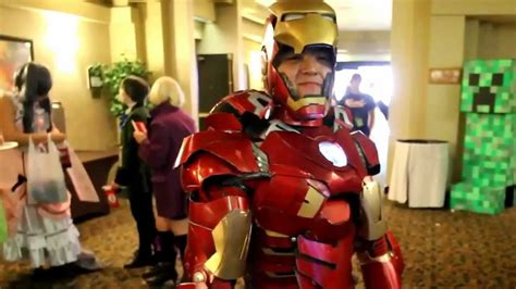 cosplay iron man real life youtube