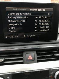 Audi Connect Monthly Cost by Audi Connect Monthly Cost After 3 Month Trial Any Ideas