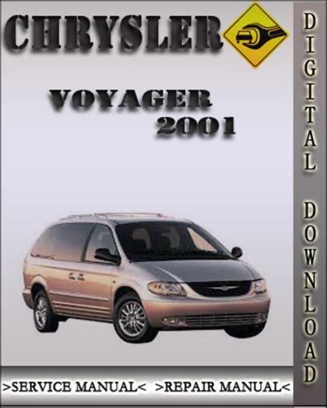 service manual 2001 chrysler voyager workshop manuals free pdf download service manual pdf