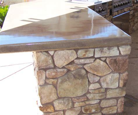 Concrete Countertops Outdoor by Custom Outdoor Kitchen Fairfield