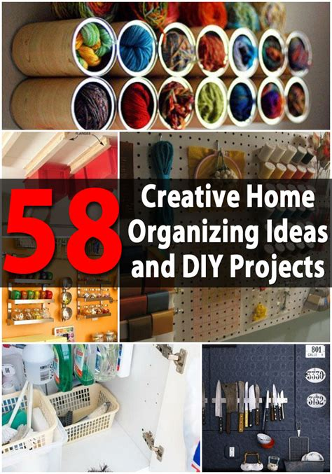 diy organization ideas top 58 most creative home organizing ideas and diy
