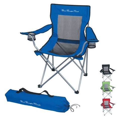 Folding Chairs In Bags by Promotional Mesh Folding Chair With Carrying Bag