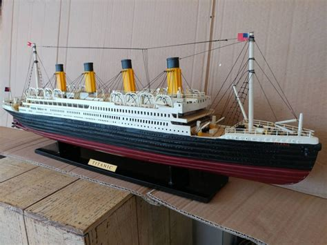 Home Theater Is A Titanic Replica by Buy Rms Titanic Model Cruise Ship 32 Inch Model Boat