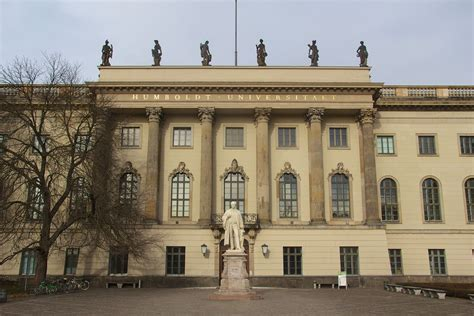 Universities In Berlin For Mba by Gallery Humboldt Universit 228 T Berlin Humboldt