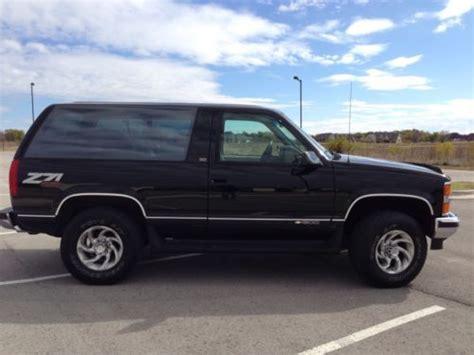 1994 Chevy Tahoe 2 Door by Purchase Used 1994 Chevrolet Z71 Blazer 4x4 2 Door Chevy