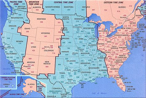 area code map usa time zones gulf coast western intranet