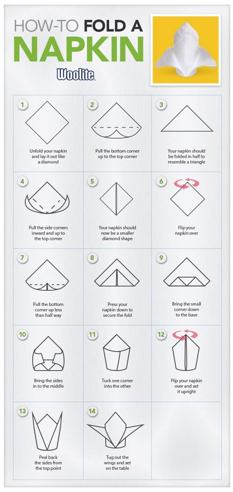 How To Fold Paper Napkins For A Dinner - 27 best images about napkin folding on tying