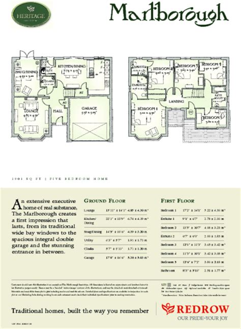 redrow oxford floor plan redrow oxford floor plan stanbury meadows newton abbot
