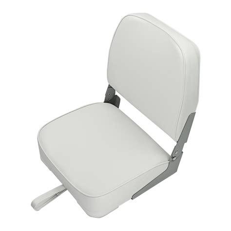 white boat seats 2 deluxe folding marine boat seats white ebay
