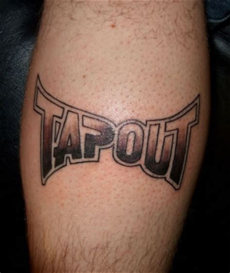 tapout tattoo3d tattoos