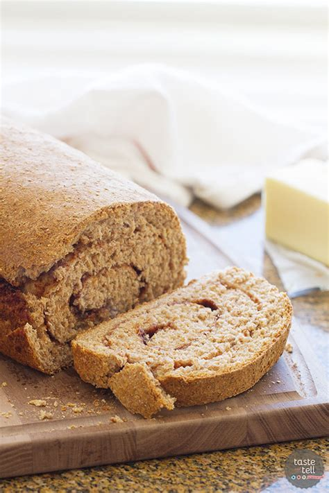 Is Wheat Bread Okay For Sugar Detox by Whole Wheat Cinnamon Swirl Bread Taste And Tell