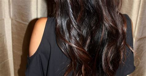 dark brown hair combinations dark brown with caramel highlights the perfect