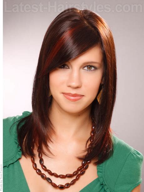 shoulderlength volume haircut medium length haircuts for girls