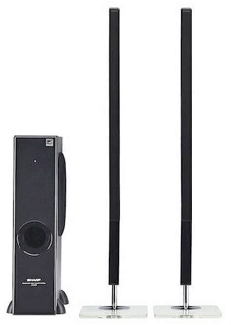 2 1 home theater sound bar system with subwoofer from