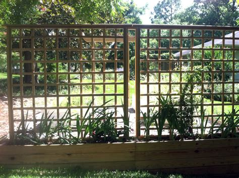 building trellises how to build a trellis wall