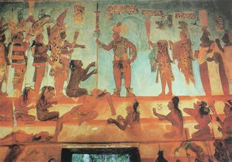imagenes de murales mayas la pintura mural maya ii