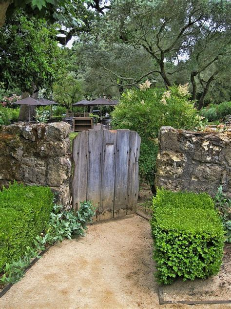 Kitchen Ideas For 2014 Free Photo Rustic Wood Gate Garden Path Free Image