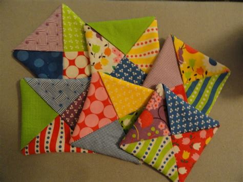 free pattern quilted coasters pat s patter criss cross coasters another way