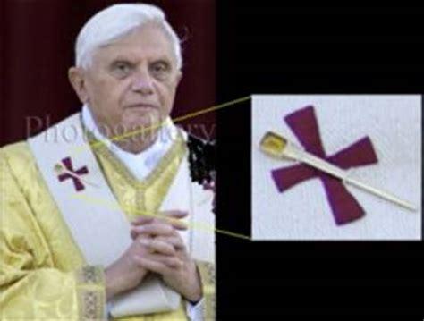 i 5 simboli degli illuminati benedetto xvi 176 illuminato di baviera