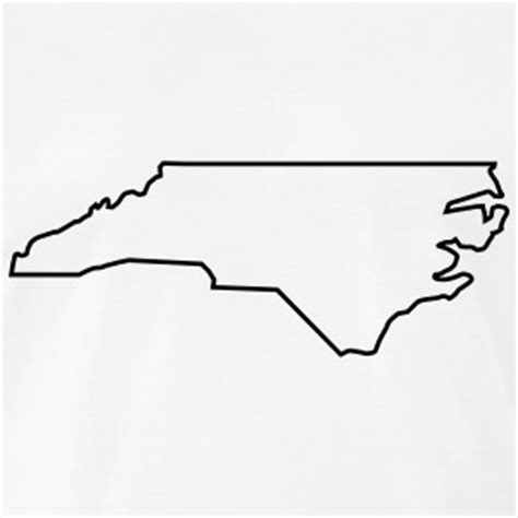 Carolina Outline by Carolina T Shirts Spreadshirt