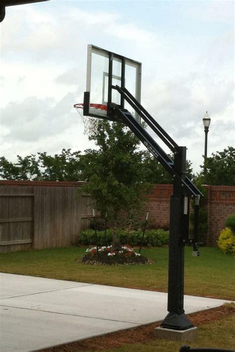 backyard basketball hoops pro dunk silver basketball system