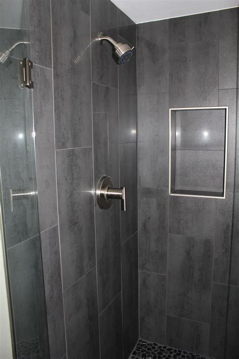 vertical shower tiles decorating ideas pinterest