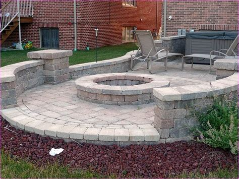 patio designs with pit patio designs with pavers brick patio ideas with