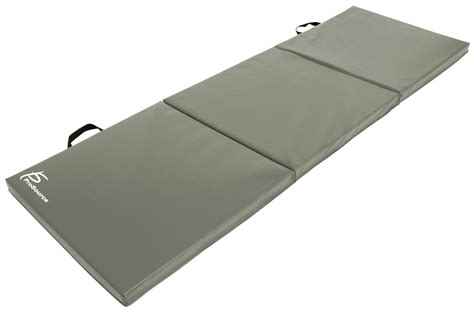 Tri Fold Mat by Prosource Tri Fold Folding Thick Exercise Mat 6 X2 For