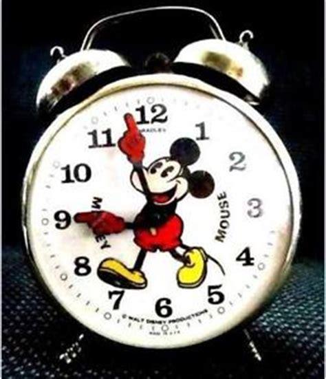 mickey mouse clock ebay