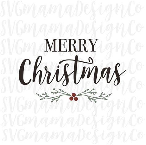 merry christmas svg rustic sign decor vinyl cut file  etsy